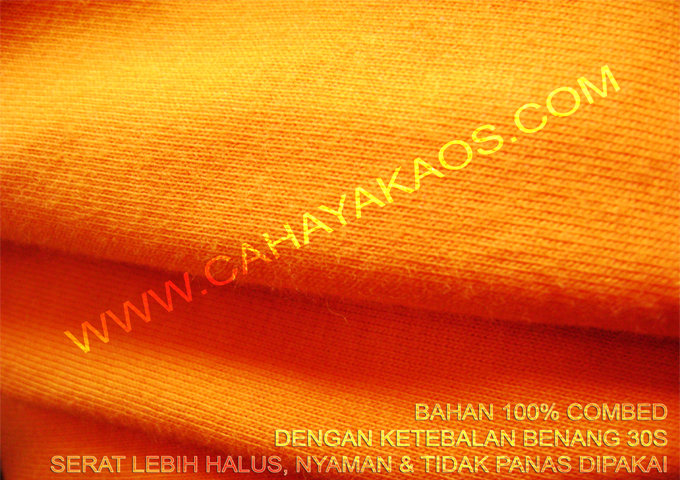 SERATCOTTON Kaos Polos Grosir
