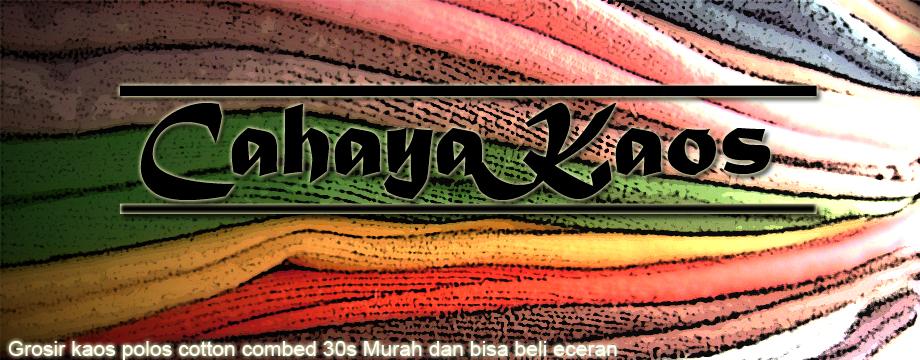 by CahayaKaos in grosir kaos polos , kaos polos , online shop murah
