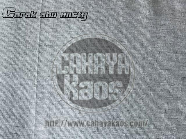 corak misty kaos combed