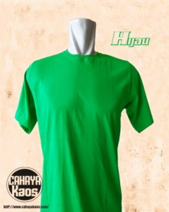 hijau1 239x300 Kaos Polos |CahayaKaos