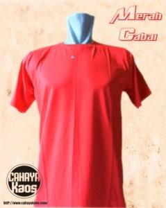 merah cabai 239x300 Kaos Polos |CahayaKaos